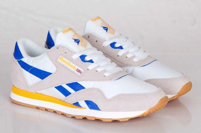 ... Reebok Classic Nylon - Black - Blue - Reebok Brass - SneakerNews.com  Reebok and ... a8e1c3fec
