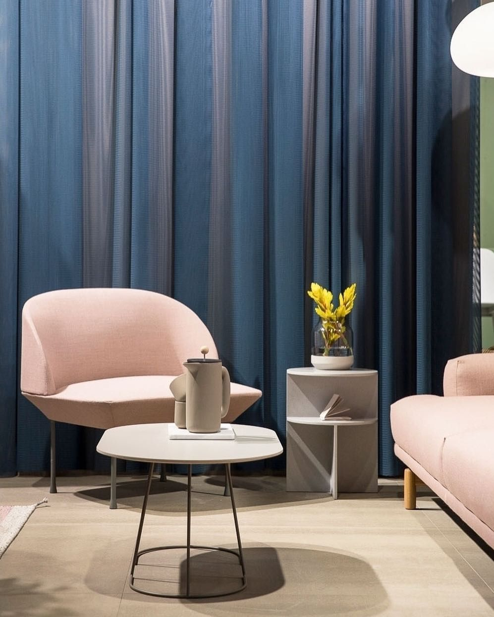 Literally Blushing The Oslo Chair By Anderssen Voll In A Pink Ish Friday Shade Muuto Newperspectives Scand Minimalism Interior Scandi Interiors Interior