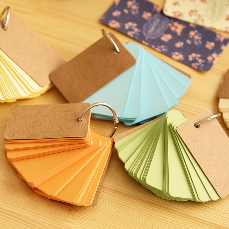 230sheets\/pcs Cute Mini Color Blank Memo Pad Sticky post it Note - blank memo