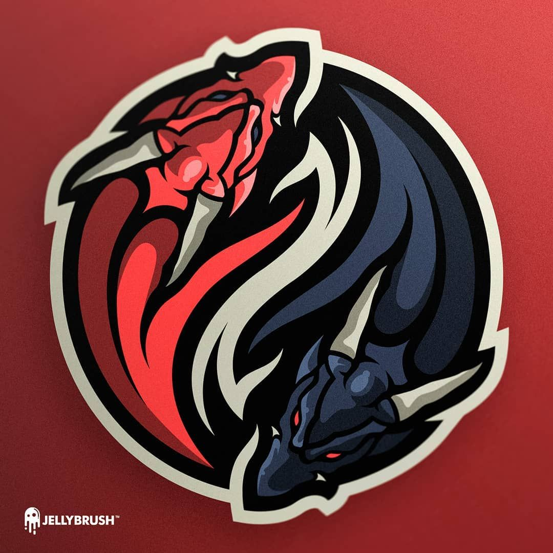 No photo description available. Art logo, Team logo