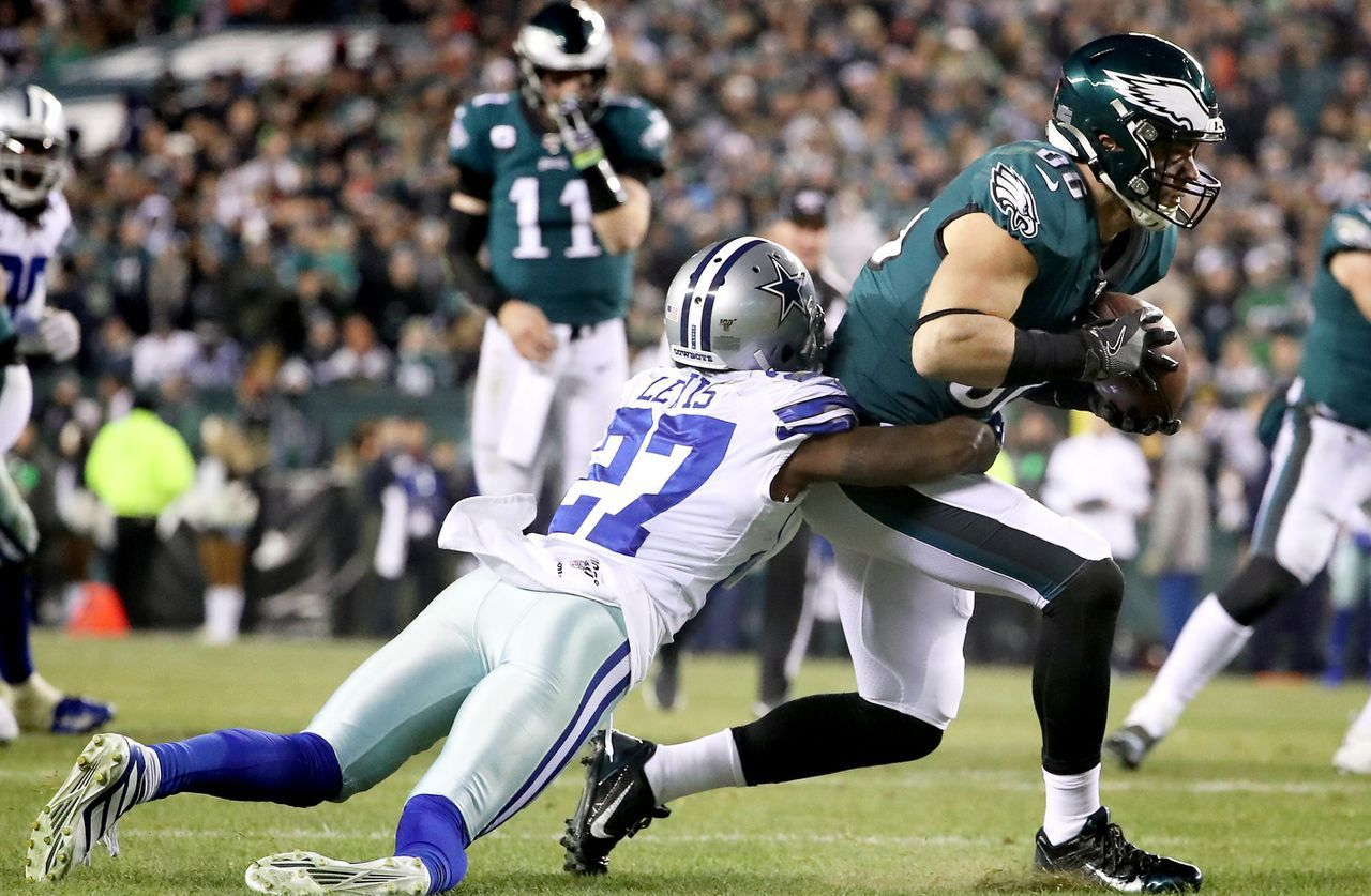 Philadelphia Eagles injury updates Zach Ertz, Lane