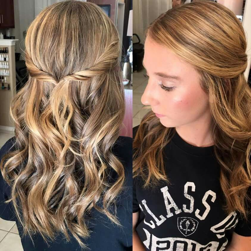 Beautiful Prom Styling Hair By Ellaschair Joseph Antone Salon 805 239 1618 522 Spring St Paso Robles Ca 93446 Long Hair Styles Hair Styles Hair