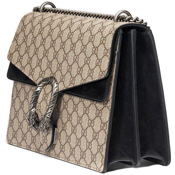 274585c8de20 Gucci Dionysus medium GG shoulder bag ($2,130) ❤ liked on Polyvore  featuring bags, handbags, shoulder bags, gucci handbags, gucci shoulder bag,  top handle ...