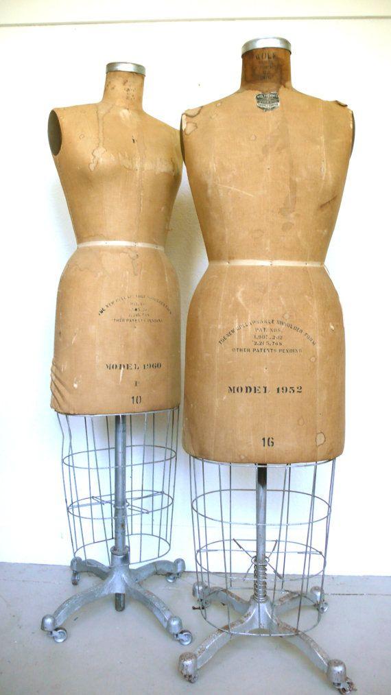 46++ Vintage dress forms info