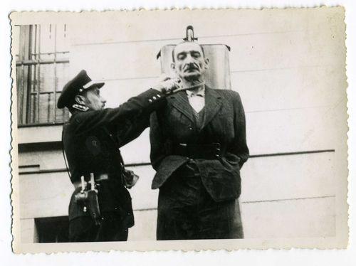 The Execution Of Heinrich Jockel Commander Of Terezin Small