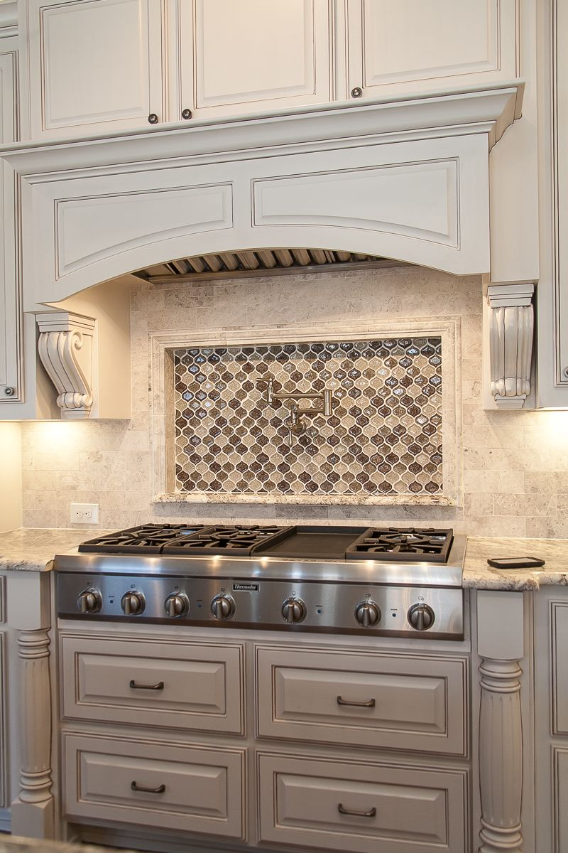 Custom Kitchen By Cleve Adamson Custom Homes Master Chef 48 Thermador Commercial Gas Cooktop