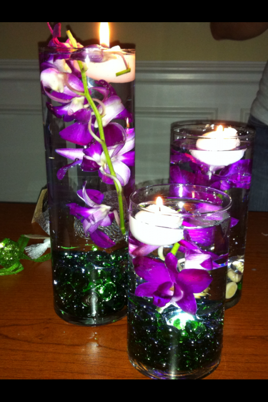 Inexpensive wedding centerpieces cheap wedding for Cheap wedding table decorations ideas