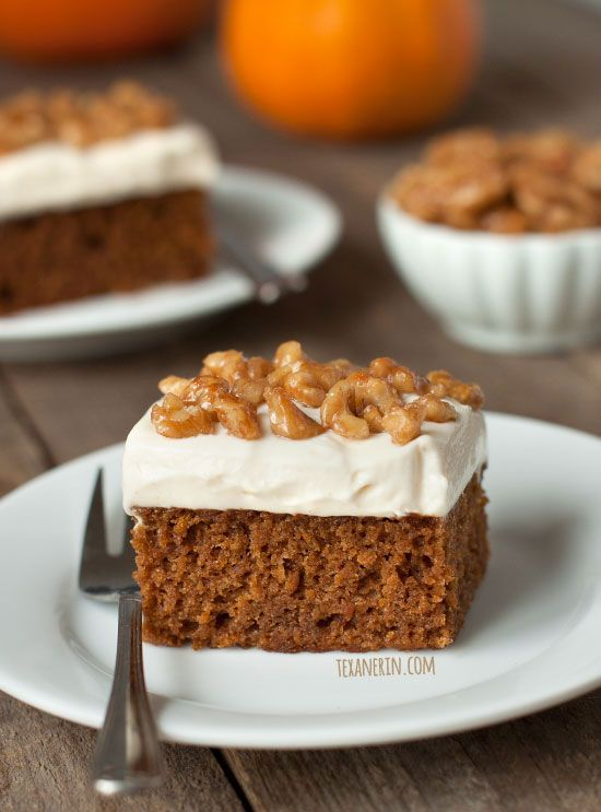 Pumpkin Cake With Maple Mascarpone Frosting 100 Whole Grain But