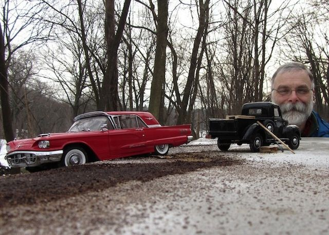 Model Cars look Life-Sized through forced Perspectives by Michael Paul Smith (13 Pictures)