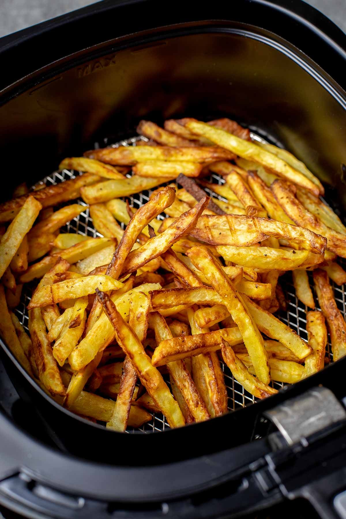 Air fryer French Fries are the deep fried french fries