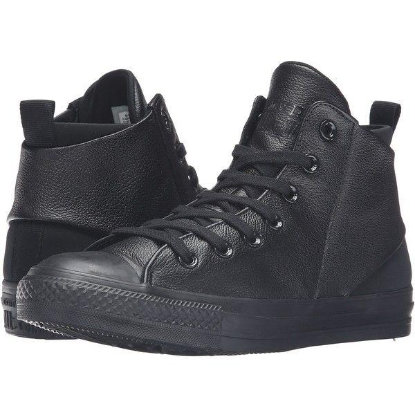 Converse Chuck Taylor All Star Sloane Monochrome Leather Black Hi