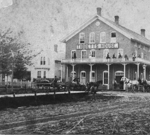 Tibbett S House Hotel At Preston Minnesota Fillmore County Historical Society