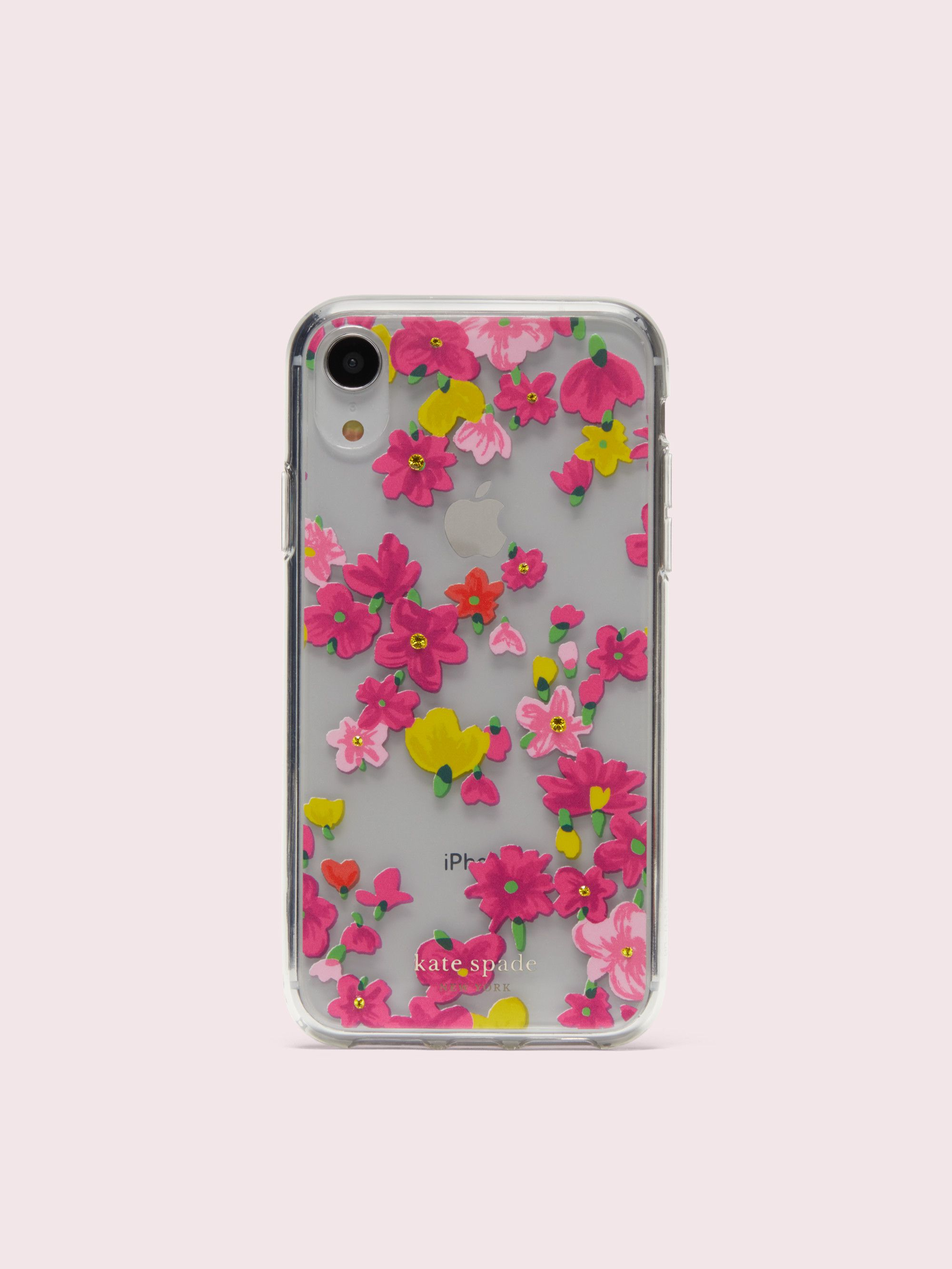 premium selection 802f7 5042b Jeweled marker floral clear iphone xr case in 2019 | •tech ...