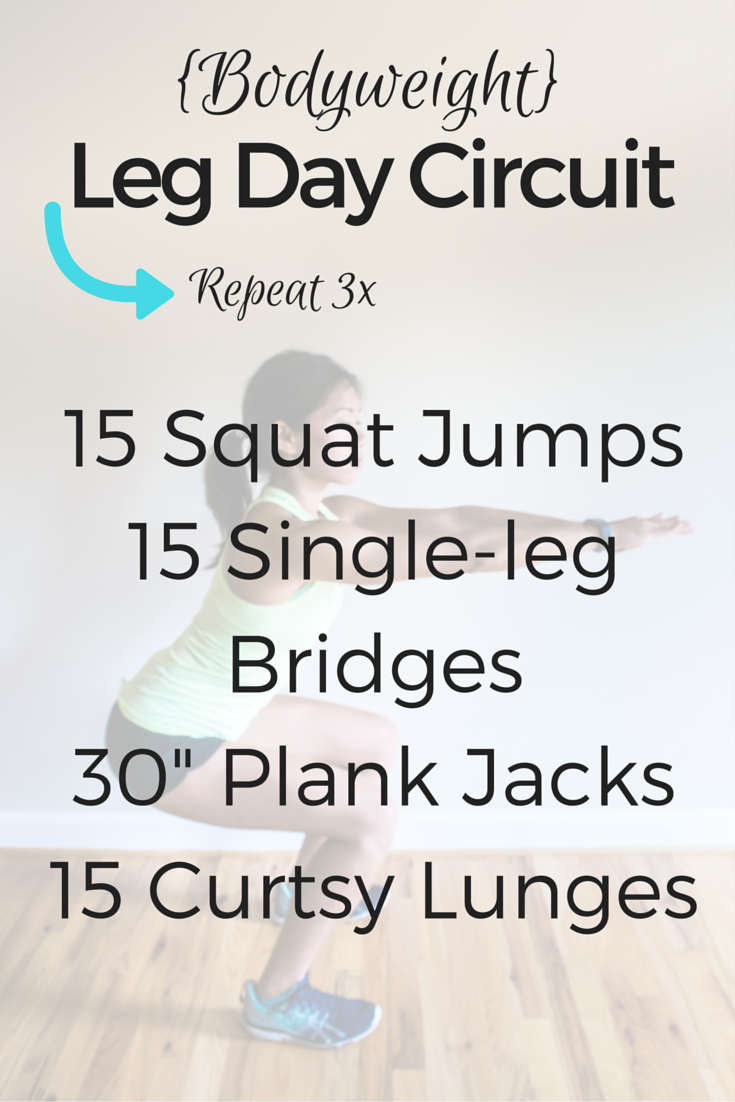 Work Your Legs With This Bodyweight Leg Day Circuit Easy To Do And How Circuits You Can It Virtually Anywhere Hello Fit