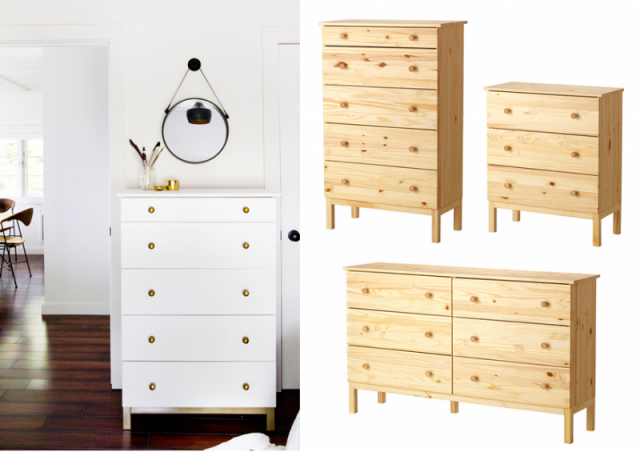 customiser la commode tarva ikea chambre. Black Bedroom Furniture Sets. Home Design Ideas