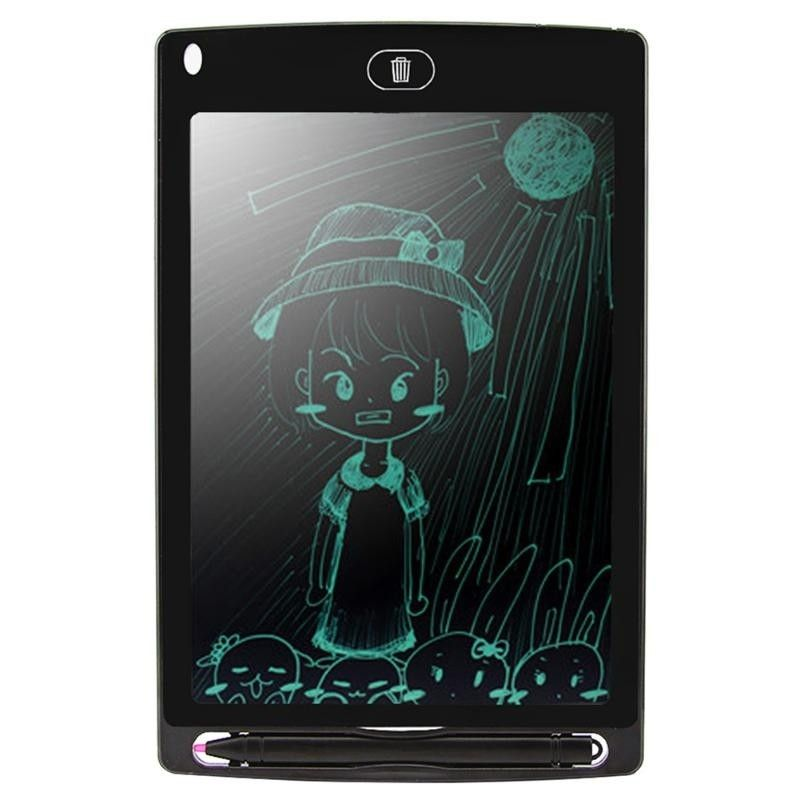 "8.5/"" Ultra-thin LCD Writing Tablet Pen Writing Drawing Boogie Board US DIRECT"