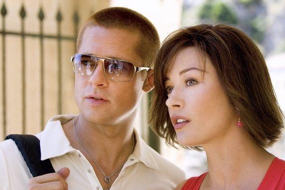 20 Things That Led Catherine Zeta Jones To Broadway Slide 17 Catherine Zeta Jones Brad Pitt Oceans Twelve