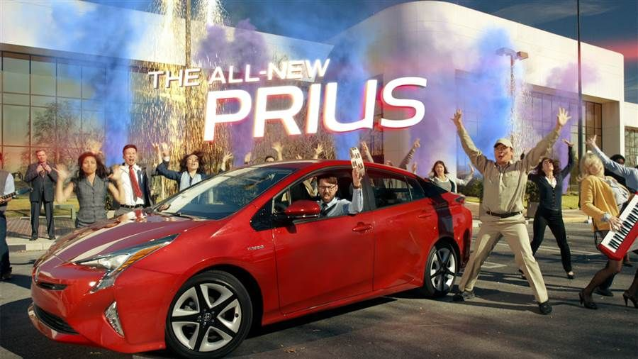 Think A Hybrid Car Like Prius Is Just Eco Stodgy Toyota S Hoping You Ll Again After This High Energy Commercial Set To Air Sunday