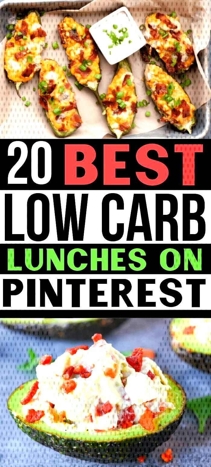 Looking for the best low carb lunches on Pinterest?? There are so many EASY low carb lunch ideas to