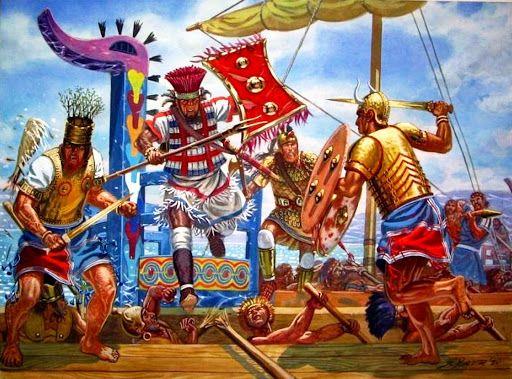 10 Things You Should Know About The Achaemenid Persian Empire: Los Pueblos Del Mar, Por Giuseppe Rava.