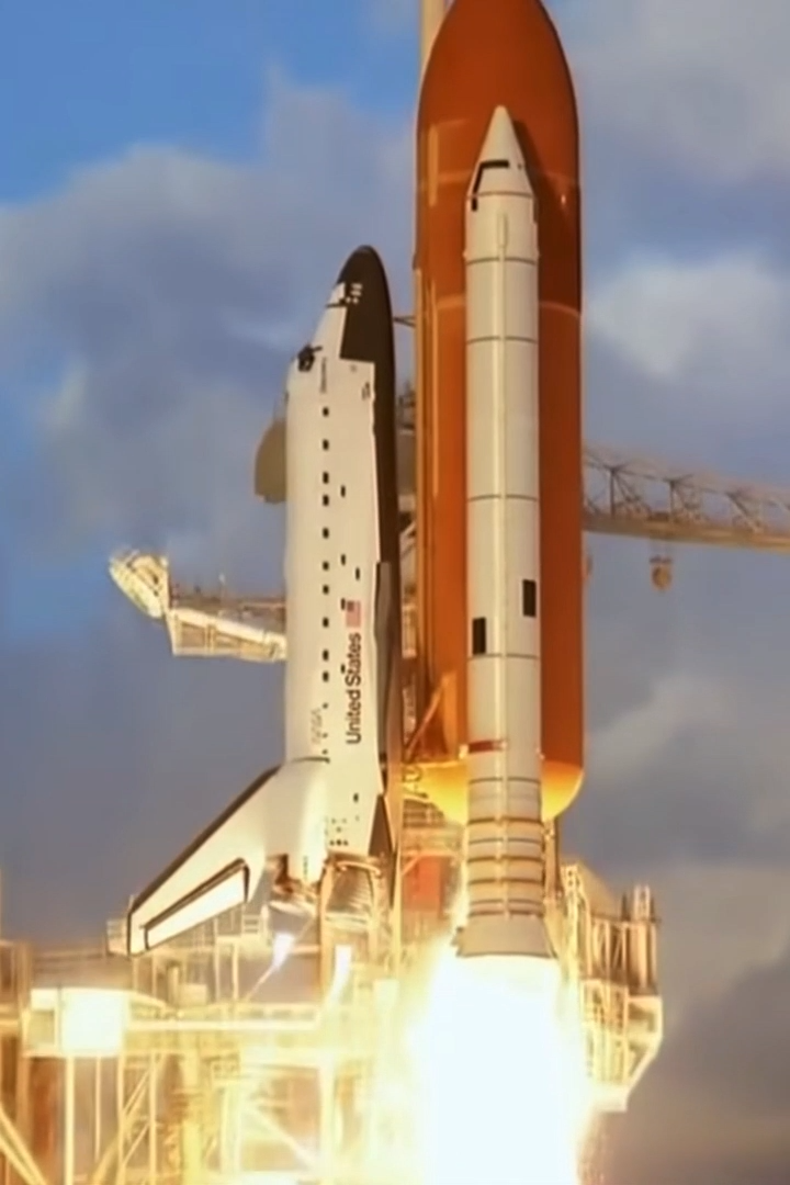Shuttle Liftoff #sciencehistory
