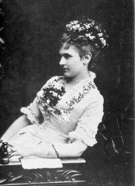 """Katharina Schratt (1853-1940) was an Austrian actress who became """"the uncrowned Empress of Austria"""" as the mistress and confidant of Emperor Franz Josef. Their relationship lasted for 34 years."""