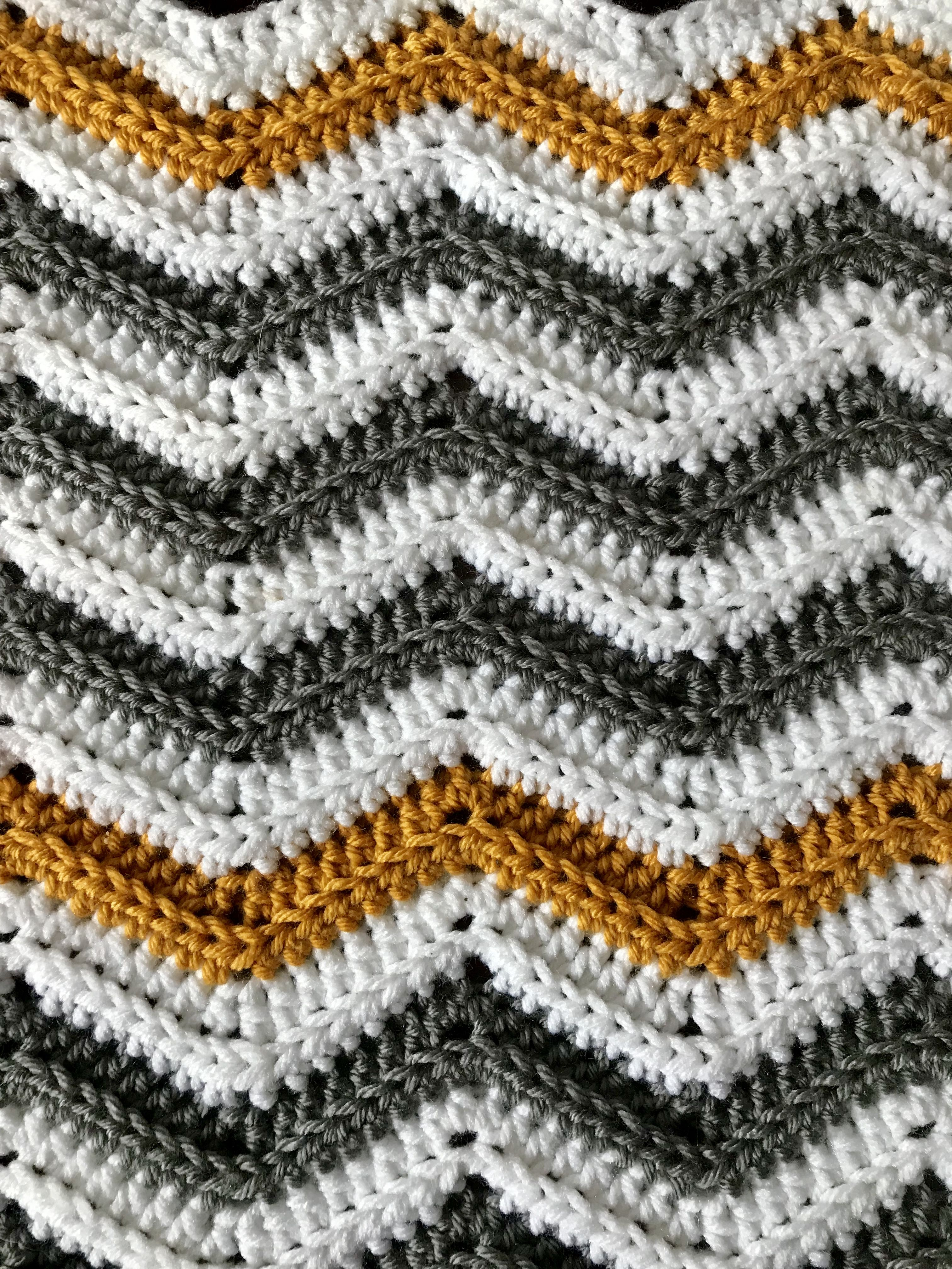 An Awesome Crochet Wallpaper Background For Your Phone Chevron Grey White And A Dab Of Gold Give Al Crochet Backgrounds For Your Phone Wallpaper Backgrounds