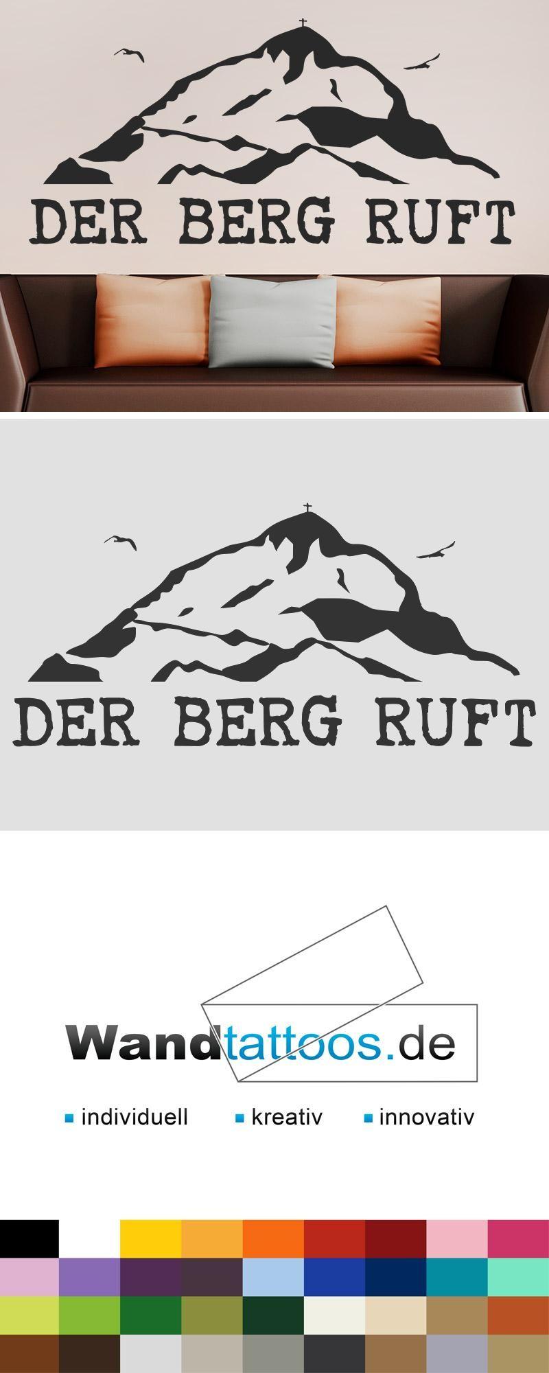 Wandtattoo Der Berg Ruft Wandtattoos De Der Berg Ruft Der Berg Wandtattoo