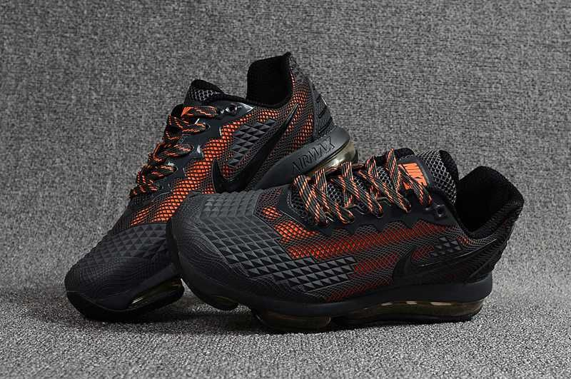 low priced bbdda 73ab6 NIKE Air MAX 2019 KPU Carbon Grey Orange Men Shoes