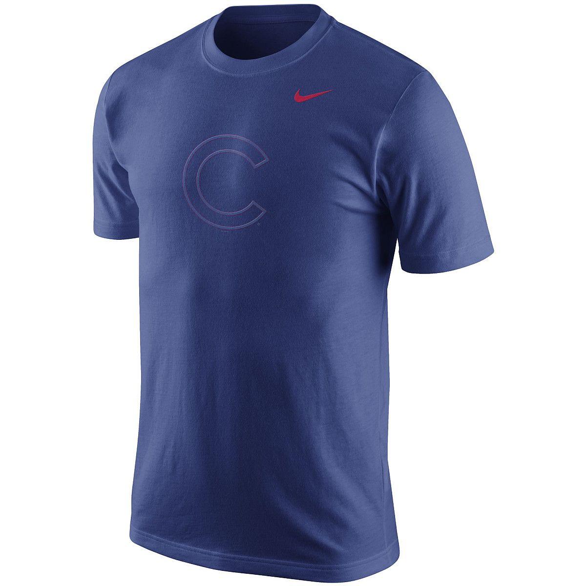 Nike Men's Chicago Cubs Flash Logo ShortSleeve TShirt