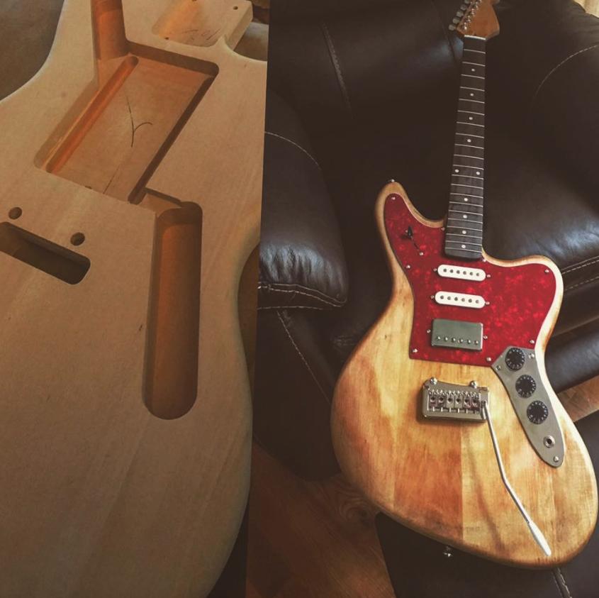 Onca - DIY Guitar Build - The FretWire