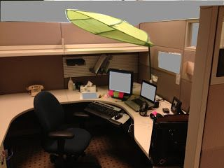 Cube Sweet Cube Lighting Cubicle Shade Cubicle Decor Cubicle Design