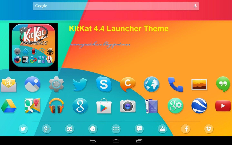 [Launcher Theme] KitKat 4.4 Launcher Theme v2.31 APK