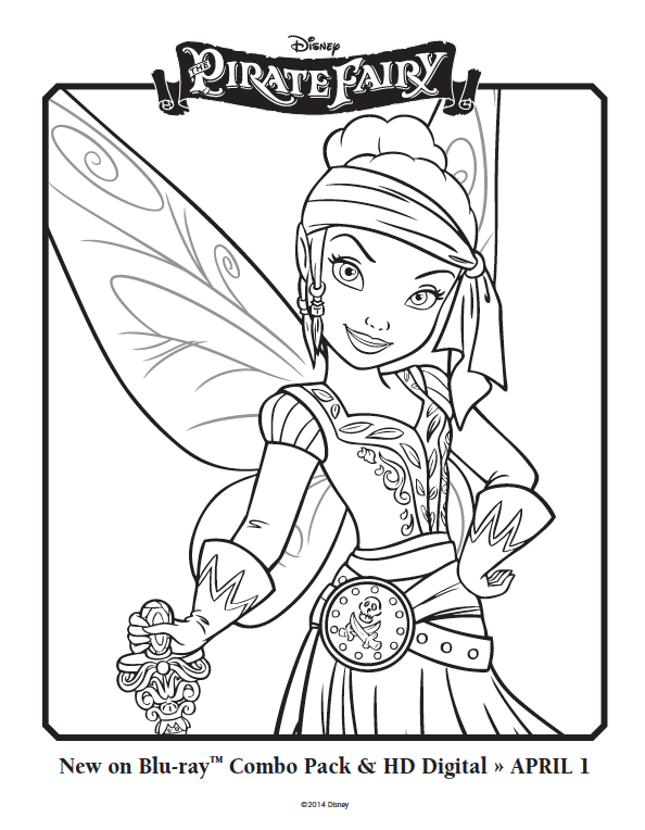 Free Pirate Fairy Coloring Pages Fairy Coloring Pages