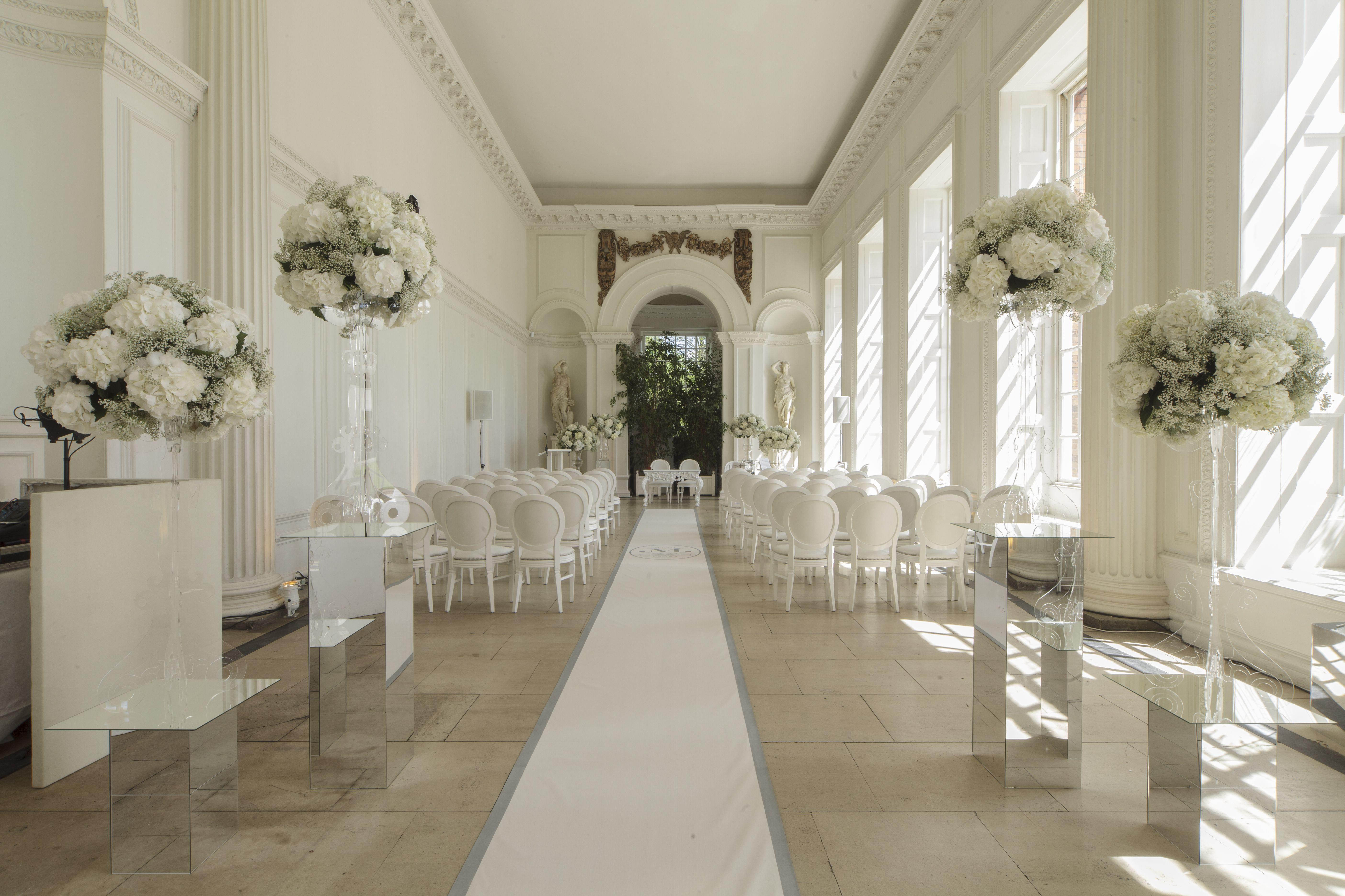 Civil Ceremony In Kensington Palaces Orangery Uniquevenuesoflondoncouk Venue Wedding Venues LondonBest