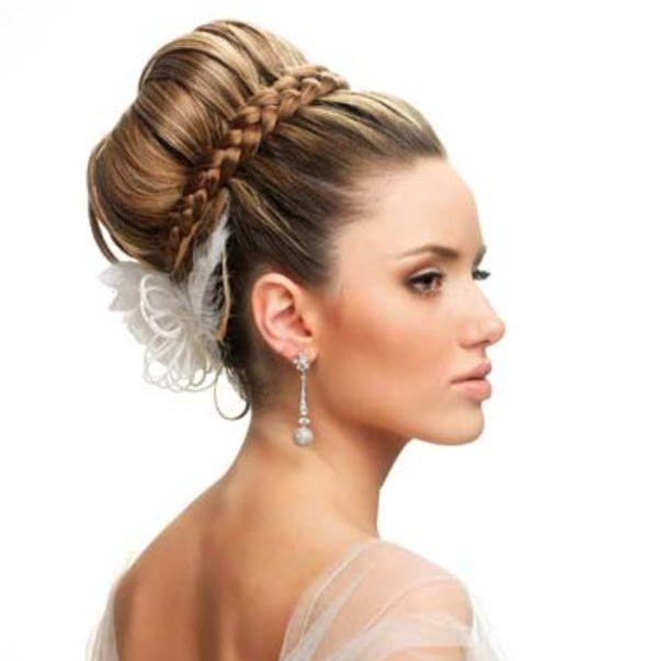 peinados-para-bodas-moños-altos-3jpg (600×603) Damitas de honor
