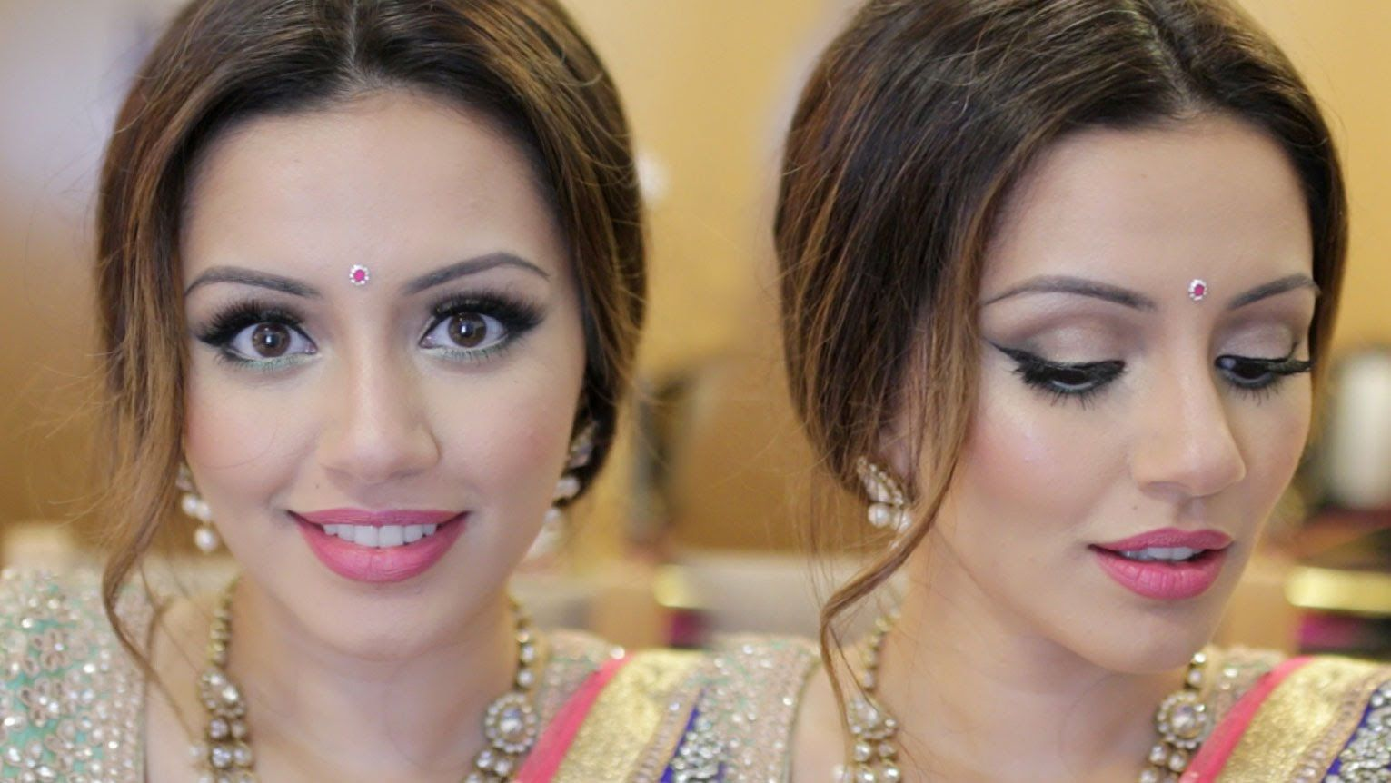 Indian Wedding Get Ready With Me Eid Makeup Look Kaushal