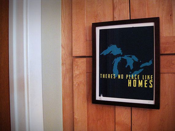 There's not place like HOMES  screenprint by MagneticToaster, $25.00