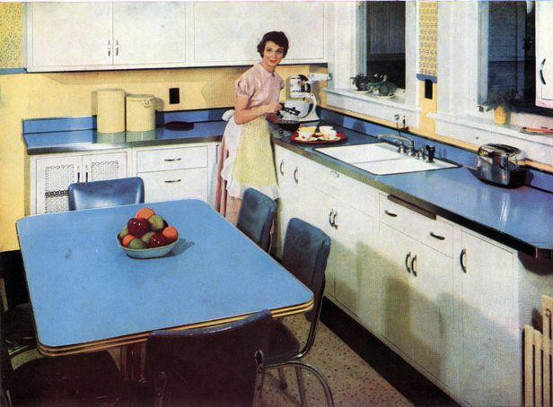 Publicite Pourune Cuisine En Formica En 1953 Kitchen Home Decor Decor