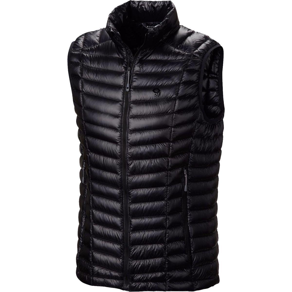 Mountain Hardwear Ghost Whisperer Down Vest Black S