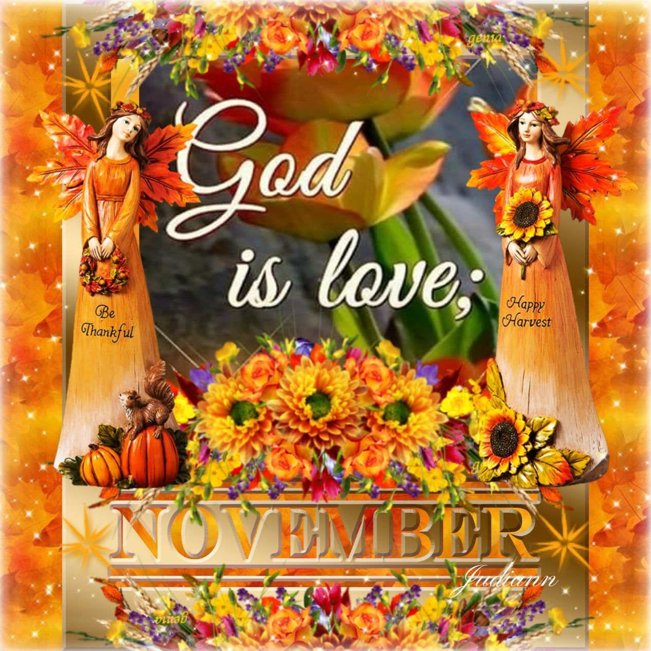 God Is Love November Quote Pictures Photos And Images For Facebook Tumblr Pinterest And Twitter In 2020 November Quotes Gods Love Thanksgiving Quotes Images