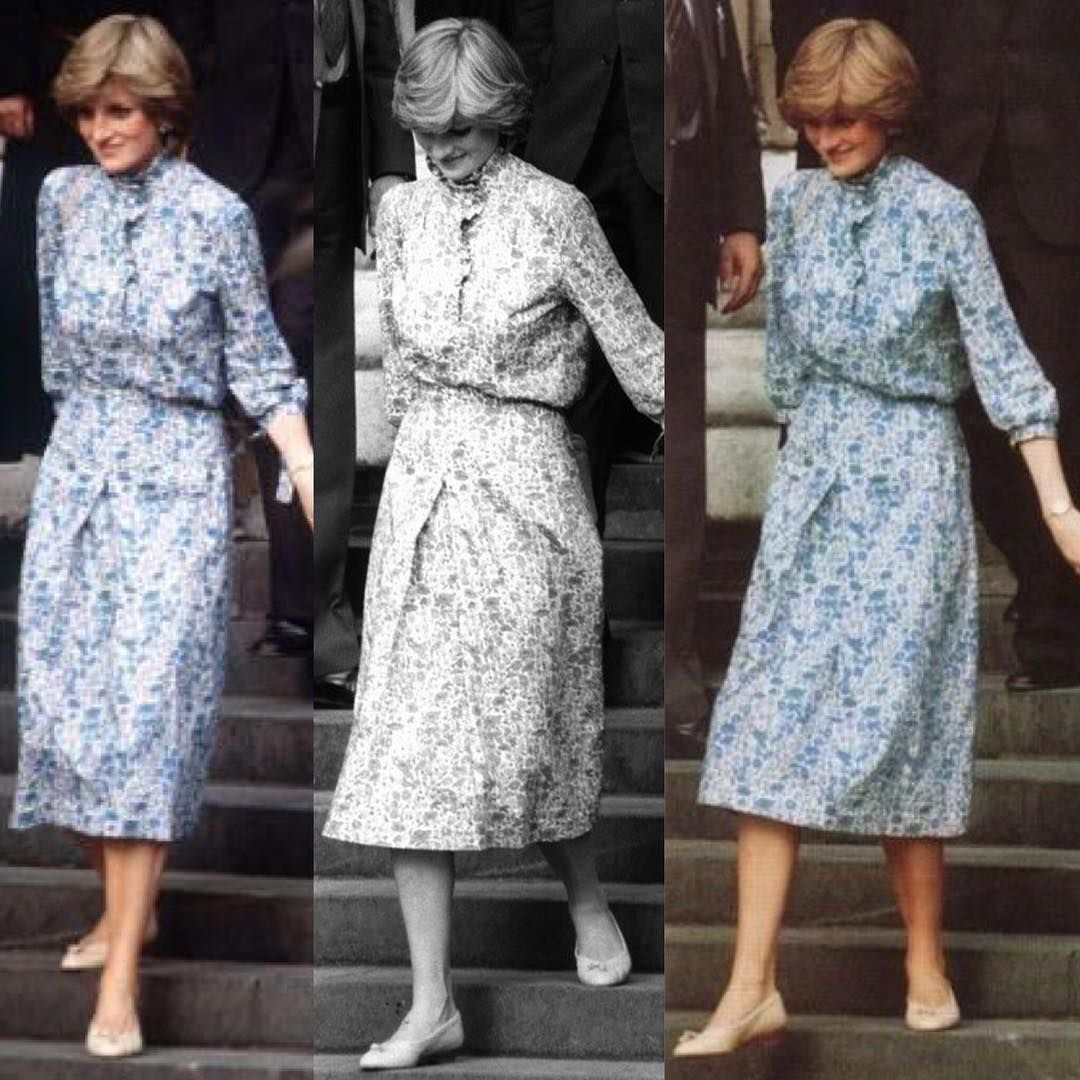 Our Lady Diana attending her wedding rehearsal July 21