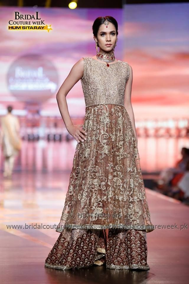 ba21be907362 Umsha by Uzma Babar Durr-e-Shevar Collection at Bridal Couture Week ...