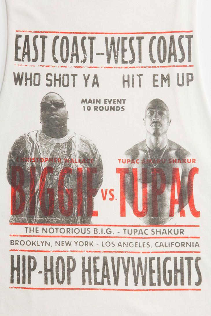 Biggie vs tupac muscle tee apparel graphic tees pinterest tupac muscle tee nvjuhfo Images