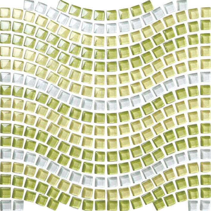 Color Blend Crystal Glass Mosaic Tile Bathroom Tile Backsplash