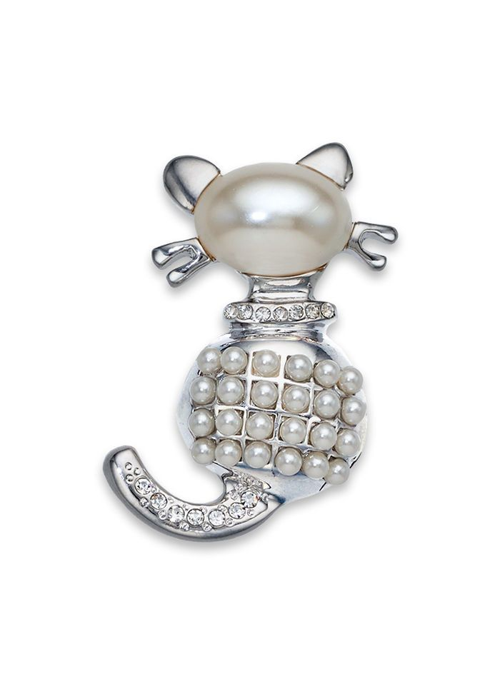 Pampered Cat Pin - AmeriMark - Online Catalog Shopping for Womens Apparel | Beauty Products | Jewelry | Womens Shoes | Health | Wellness