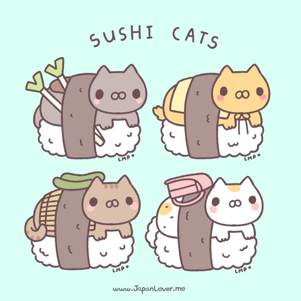 Sushi Cat Gachapons