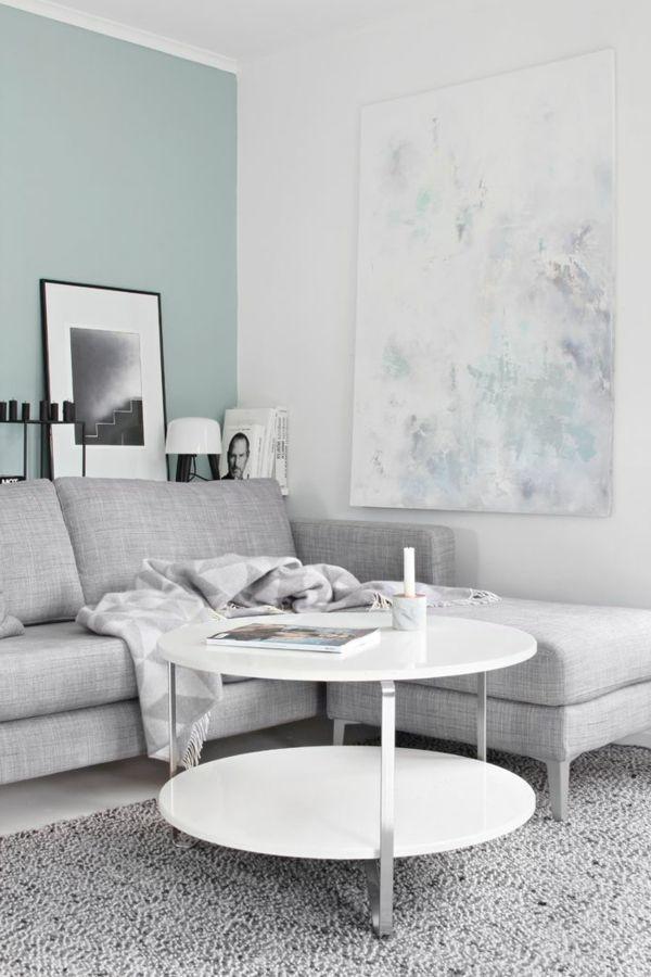 50 Pastell Wandfarben - schicke, moderne Farbgestaltung | Wohnzimmer ...