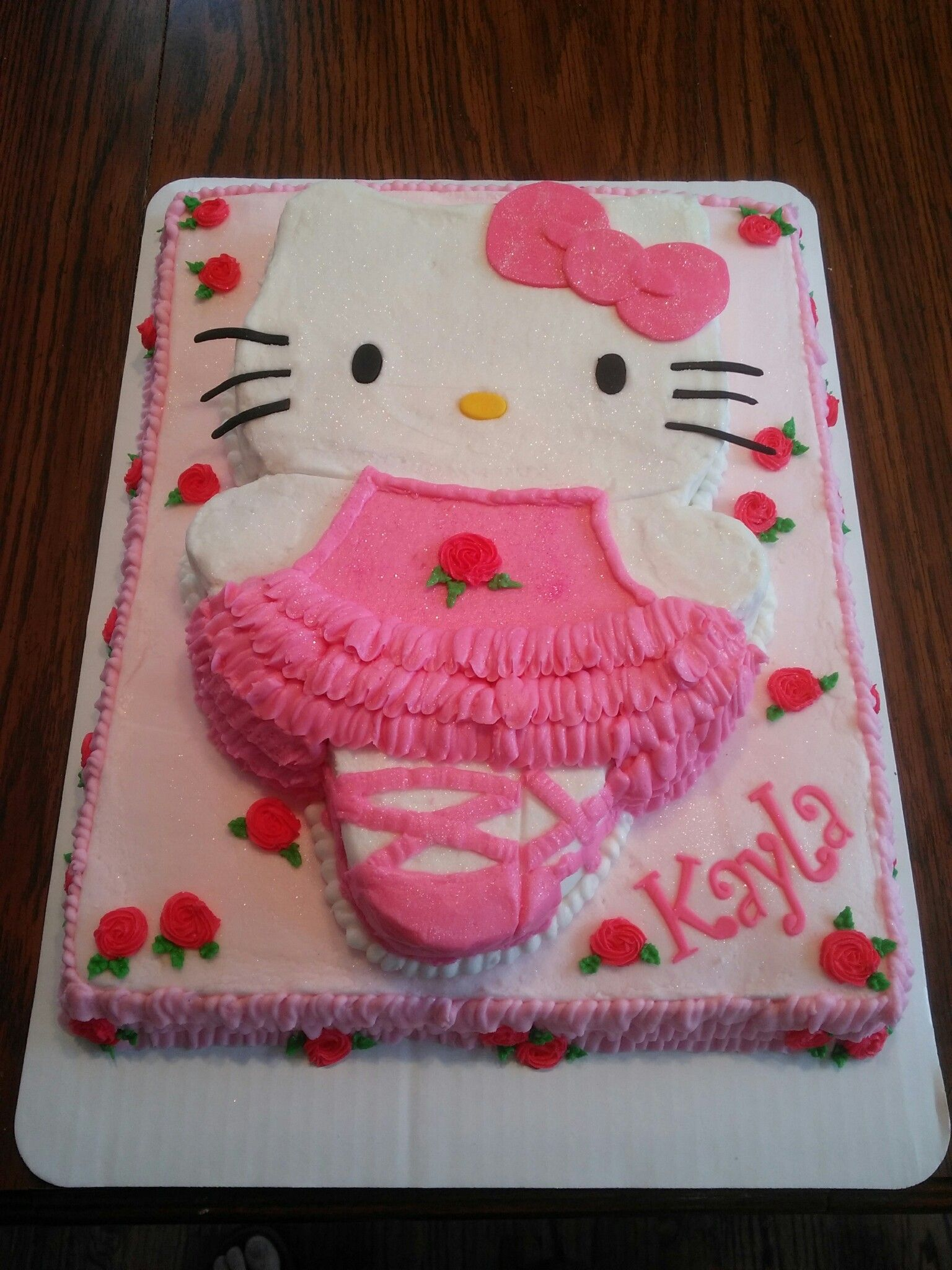Hello Kitty Ballerina Cake