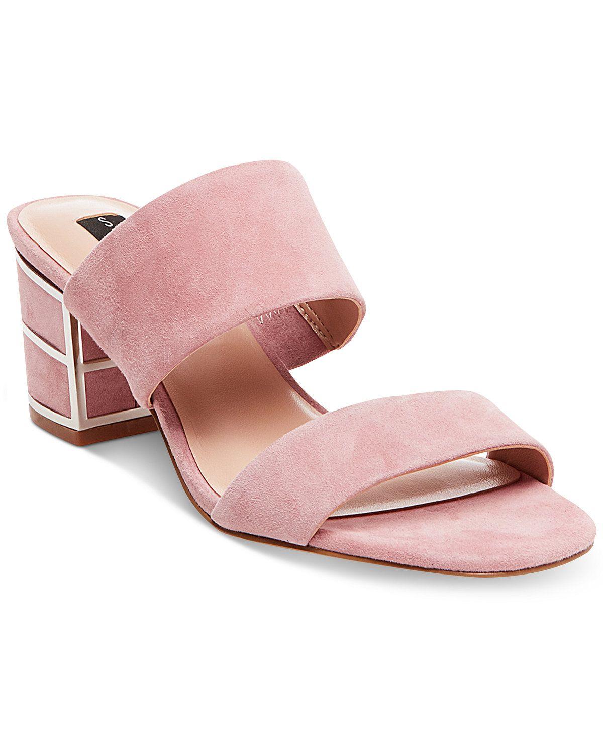 27cf402f6639 STEVEN By Steve Madden Women s Siggy Block-Heel Sandals - Sandals - Shoes -  Macy s